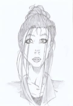 Witchblade: Sara sketch