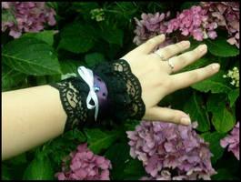 Lacy Gothic Bracelet by Silatham