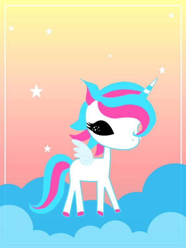 extremely cute wallpapers of unicorn - photo #7