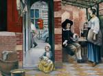 Apropos to Pieter de Hooch