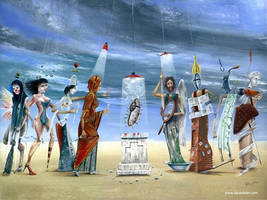 Surreal Procession by darastean