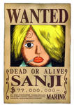 Sanji wanted