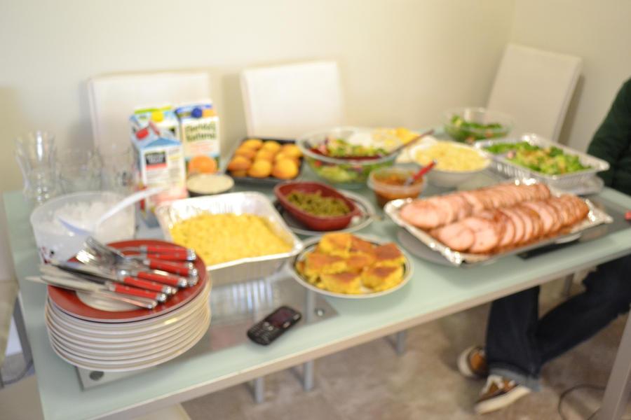 Easter Dinner II by Sunni0311 on DeviantArt