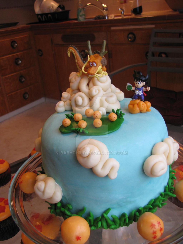 Dragon Ball Cake by babychild on DeviantArt