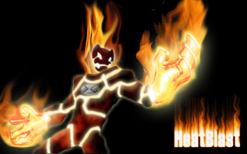 HeatBlast by hellawaits