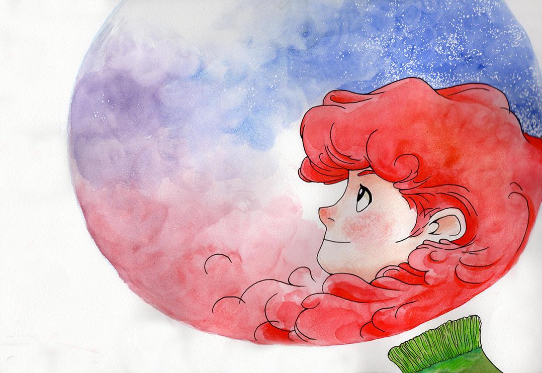 Dans ma bulle by L-Sparrow