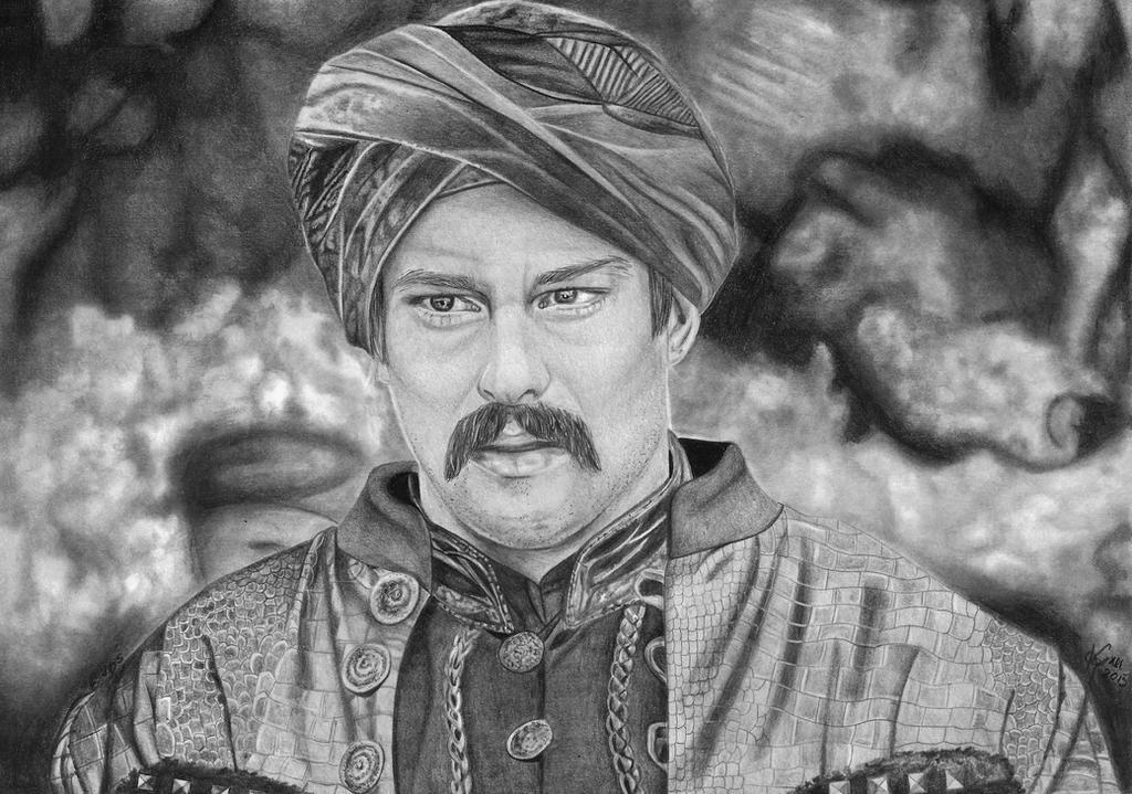 Burak Ozcivit  as Bali Bey by kosikkkk
