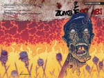 Zombie Bomb 3 Cover by johnraygun