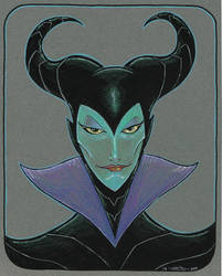 Maleficent by johnraygun