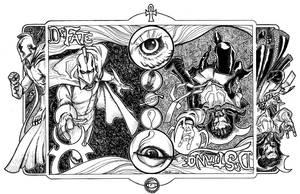 Dr.Strange / Dr. Fate