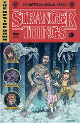 Stranger Things EC Comics Cover