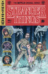 Stranger Things EC Comics Cover by johnraygun