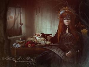 Ego et Lupus by StaceyAnnBorg
