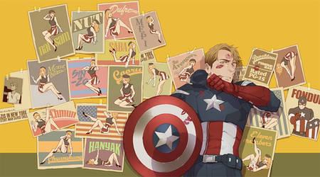 captain america by cooru58