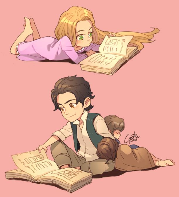 Pin Rapunzel And Eugen...