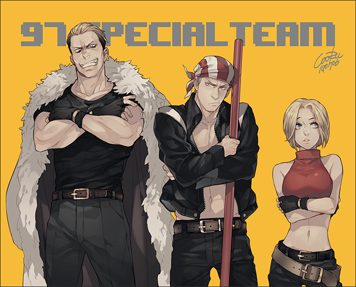 KOF 97 Special Team by cooru58