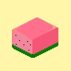 Melon cube
