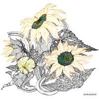 Sunflowers by AnkaS