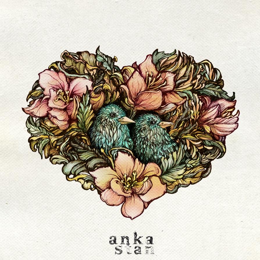 Birdie Valentine by AnkaS