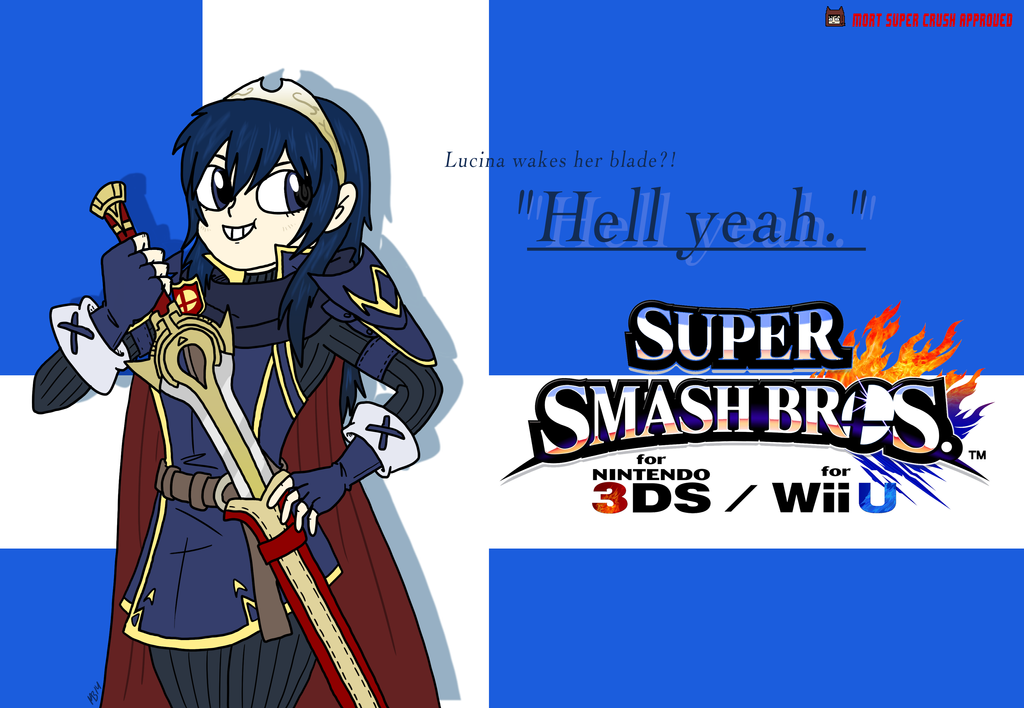Lucina's in Smash Bros!! by monjava on DeviantArt