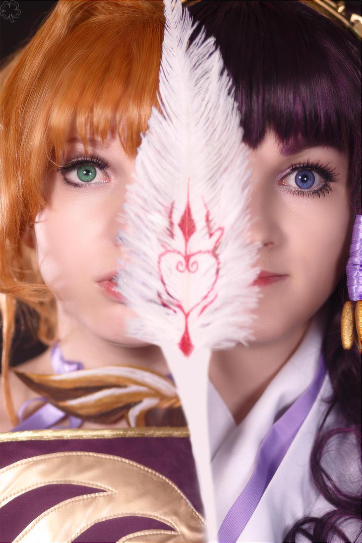 Sakura and Tomoyo by Likanda