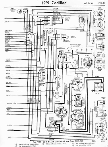 1959 Cadillac Eldorado Seville Wiring Diagram By Evergreennights1988 On Deviantart