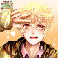 Tamaki from Happy+Sugar = Darling by Shiakushi