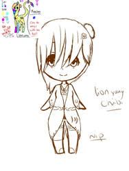 Lion yang chibi wip reference