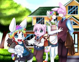 A family by Zwagyzonk