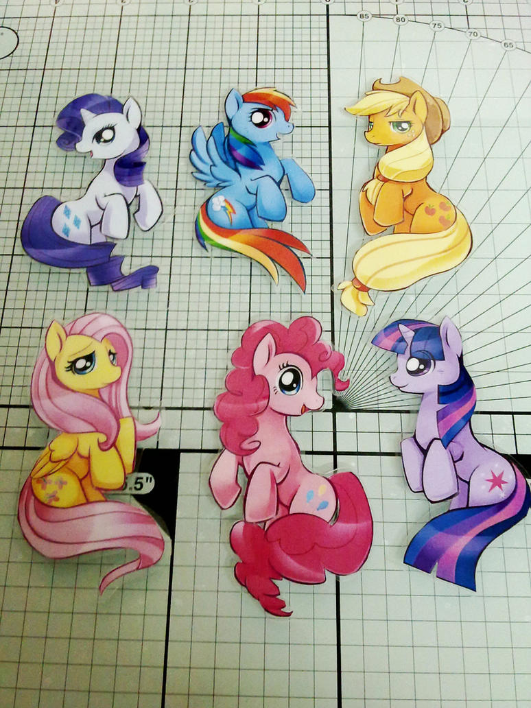 MLP Paper cut by Ende26