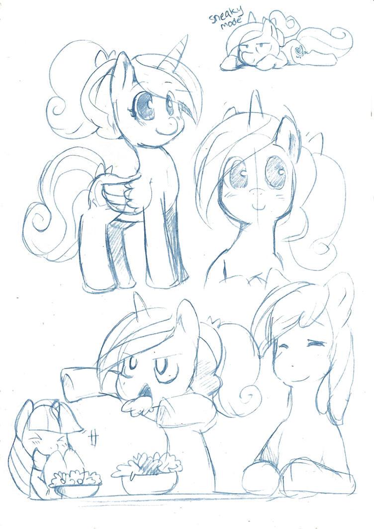 Doodles 2 MLP:FIM by Ende26
