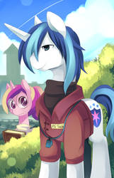High School Pony by Zwagyzonk