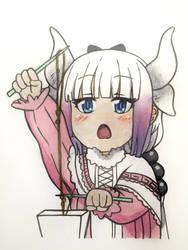 Kanna Kamui | Dragon Maid by ShrimpChipSensei