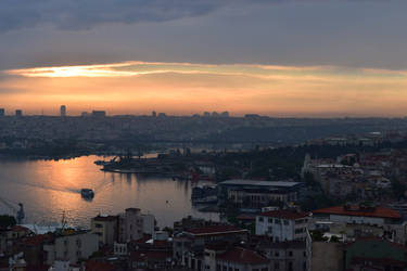 Istanbul Sunset by ShrimpChipSensei