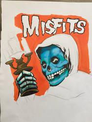 Misfits- American Psycho (W.I.P) by ShrimpChipSensei