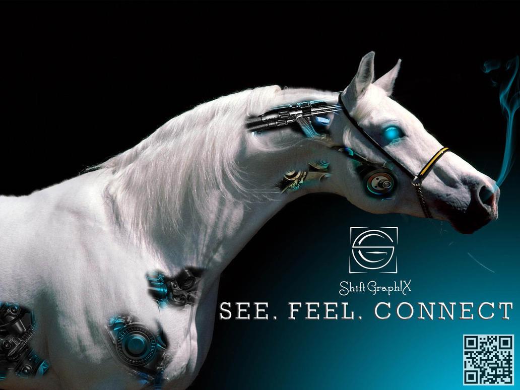 Deviantarts Robot Horse