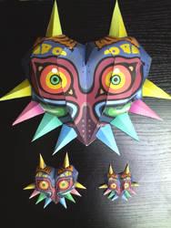Majora's Masks Papercrafts