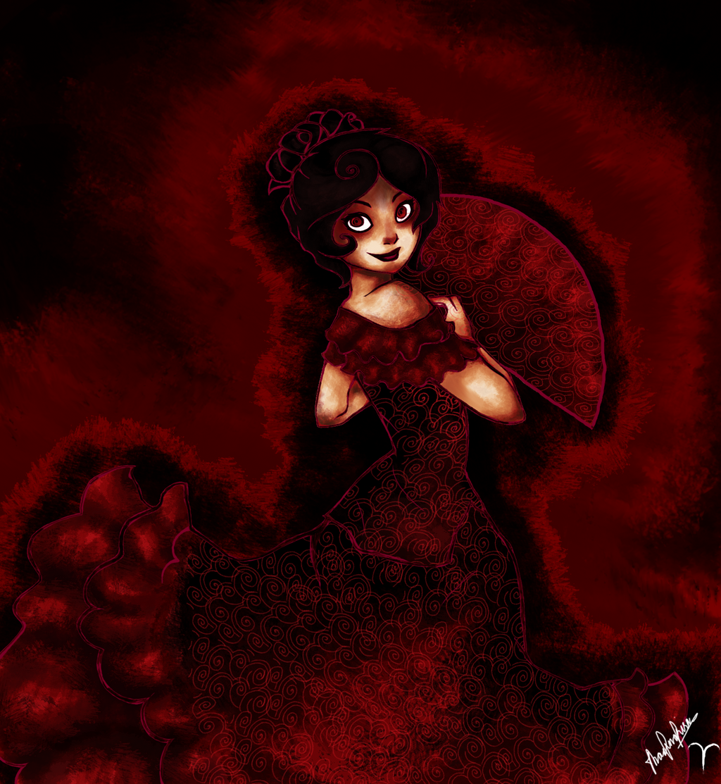 human aradia in flamenco by mymidnightsnack on deviantart