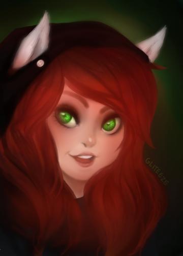 Jade harley (Paint Tool Sai) by mymidnightsnack