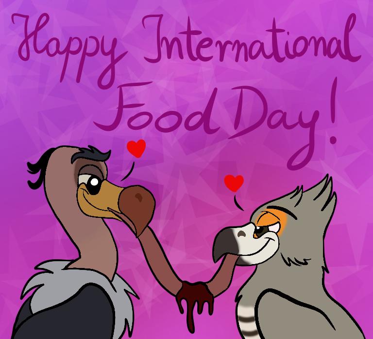 Happy International Food Day! by CunningJanja