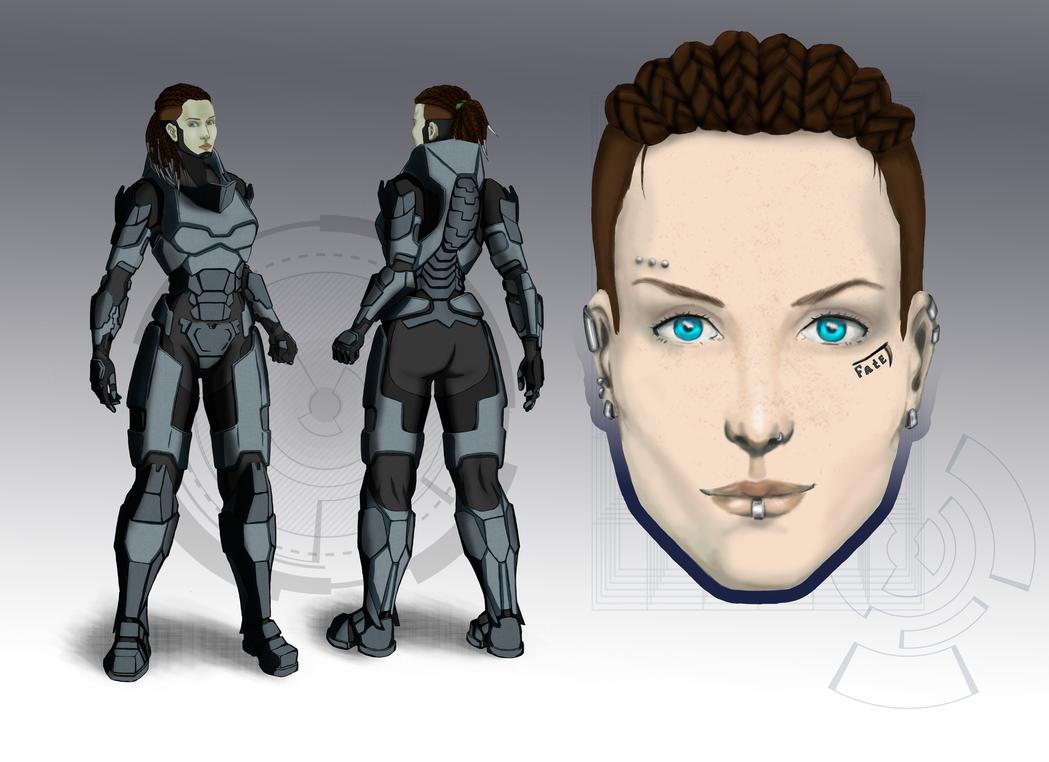 Irma Vilbeck concept by UtaraptorRed