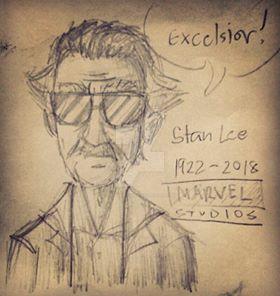 Stan Lee by ZEPHYRDICKY