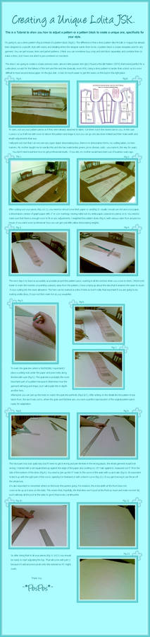 Lolita Dress Tutorial