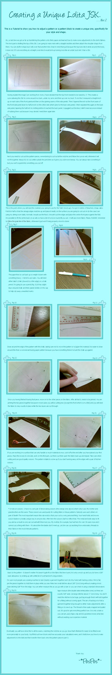 Lolita Dress Tutorial Part 2 by Pos-Pos