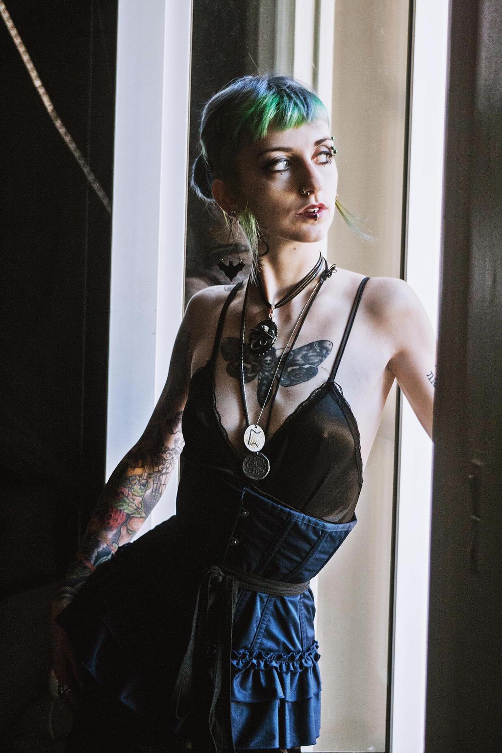 She looks like a bat under the sunshine. by CountessViceosa