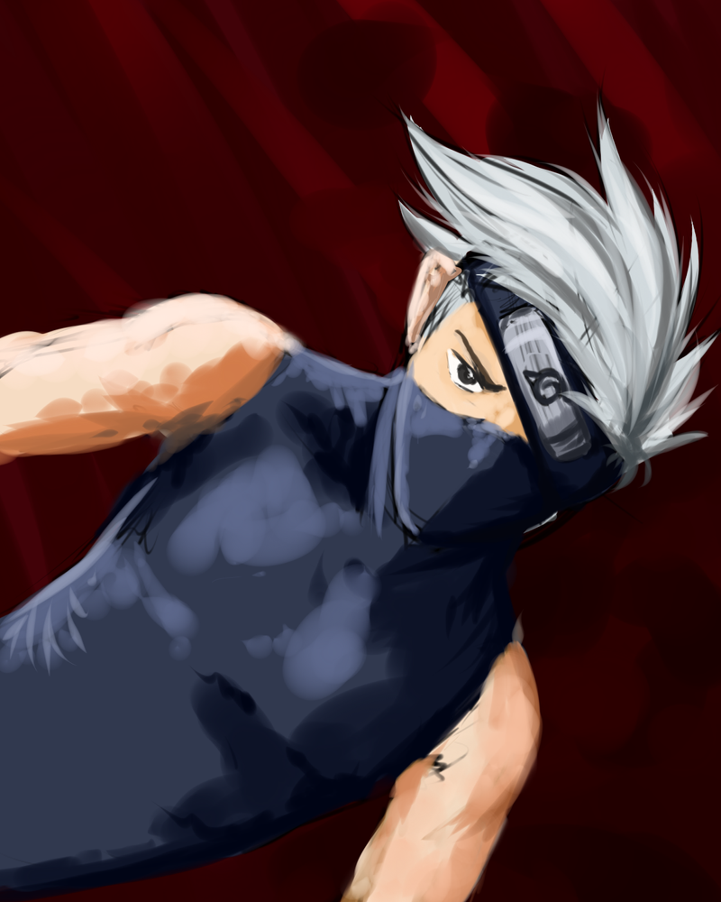 Quick Kakashi Sketch by Livaly