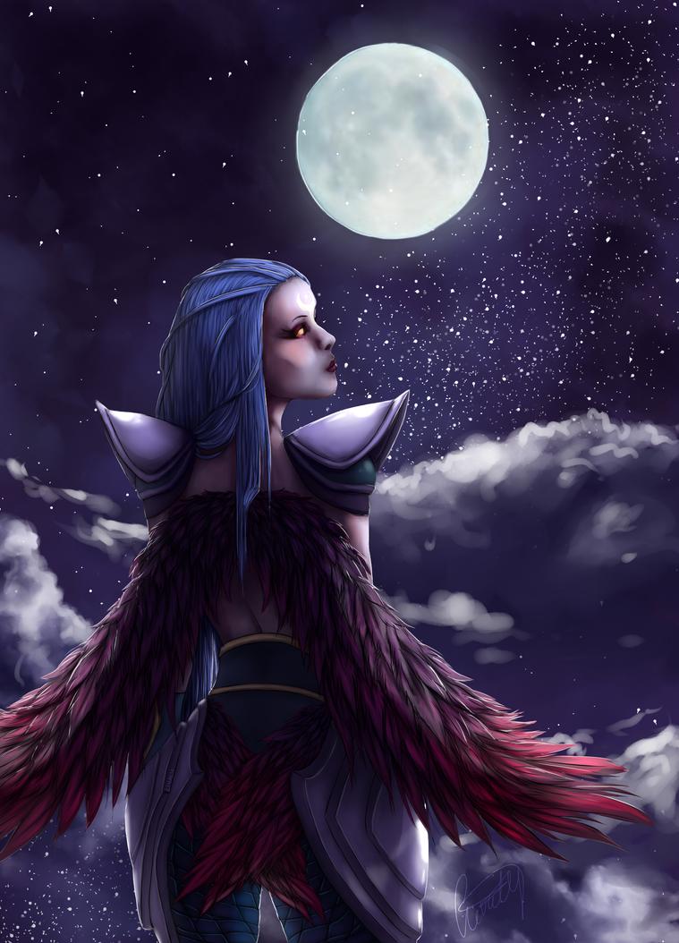 Dark Valkyrie Diana by Livaly