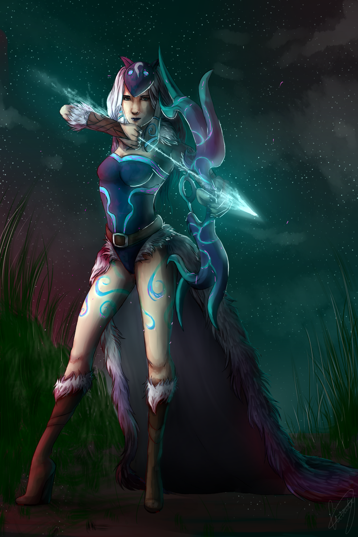 The Eternal Hunter (+Speedpaint) by Livaly