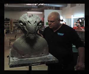 Sculpting an Alien for Star Trek Beyond by DonLanning