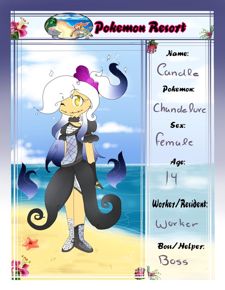 Candle - Pokemon Resort Application by Neomen12